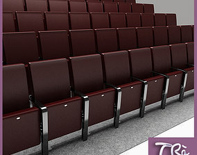 3D model THEATER SEATING AREA
