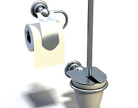 Bathroom Gadgets Tissue Holder 3D