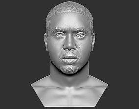 Nas bust 3D printing ready stl obj formats