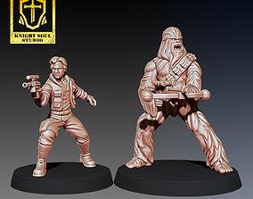 3D print model PACK SMUGGLER AND BODYGUARD