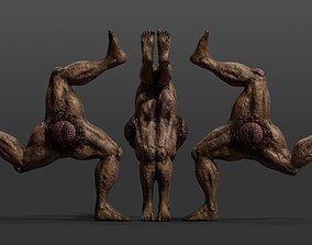 Triskelion legs monster 3D asset realtime