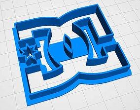 cookie cutter dolce gabbana DG 3D print model