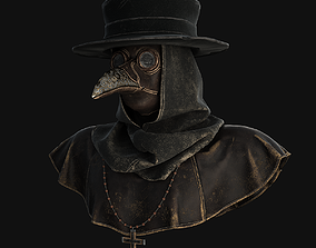 3D asset Plague doctor