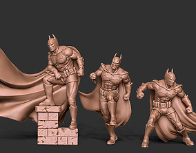3D printable model Dark knight bundle - 3 miniatures 35 mm