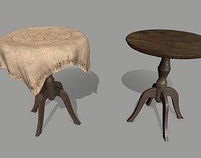 Table house 3D model VR / AR ready