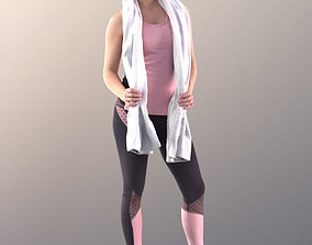 game-ready Juliette 10781 - Sport Girl - Free 3DPEOPLE