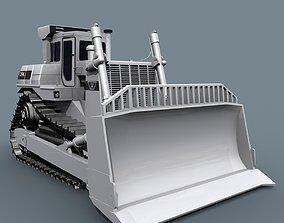 animated Your Bulldozer - 3d animated bulldozer