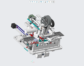 3D printable model SMT automatic splicing machine