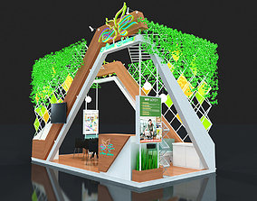 exhibition stand 3D print model