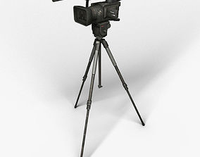 3D model Camera on the tripod