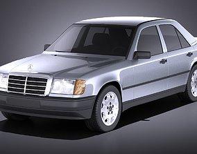 3D Mercedes W124 E class 1990 VRAY