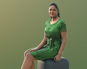 Amaya 10539 - Sitting Elegant Woman 3D model