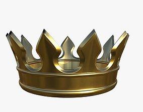 gold crown 3D model