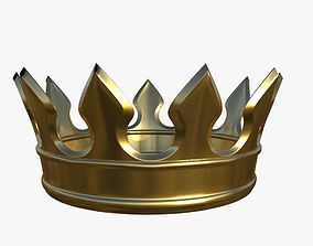 gold crown models 3D model