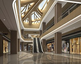 3D model and Shopping Mall