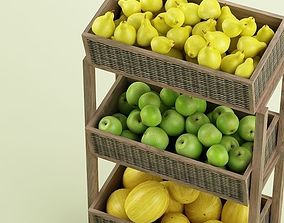 3D model Store Fruits Stand
