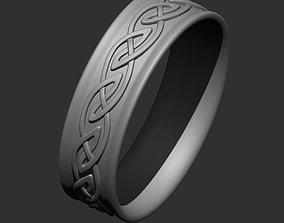 rings Celtic ring design for 3D printing 2