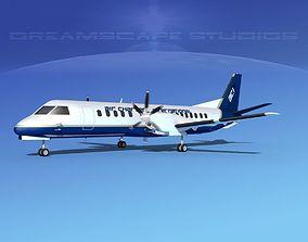 SAAB 2000 Air Charter Intl 3D