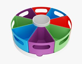 3D Space storage organizer colorful