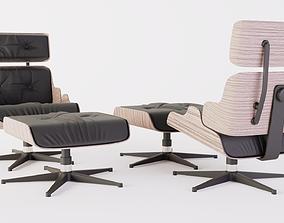 3D eames lounge chair RE