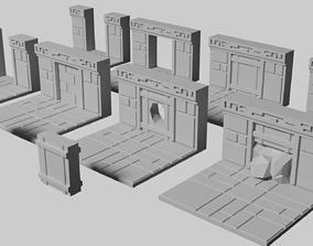 Dwarven Fort Doorway Floor Tile 3D print model