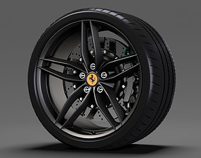 3D model Ferrari 488 Speedster wheel