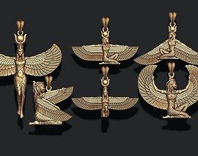 Isis pendants pack 3D printable model