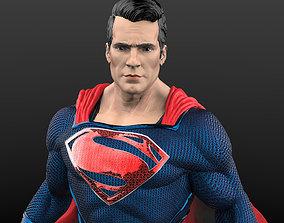 Superman from Man of steel 3D print model