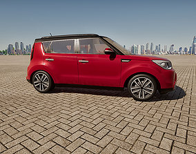 3d Twinmotion Car model- Kia-Soul