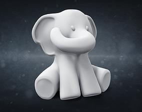 Elephant souvenir model