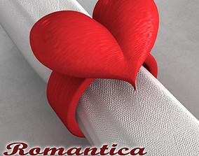 3D Romantica Napkin Ring