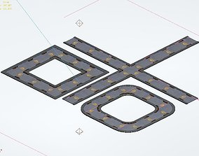 Building - Fleet - Surface Pavement 02 3D model