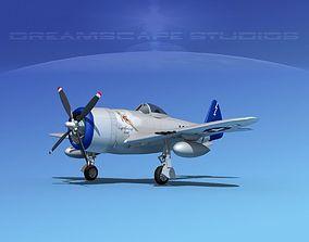 3D model Republic P-47D Thunderbolt V01