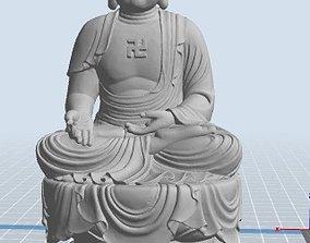 3D printable model Buddha statue temple