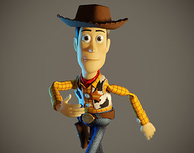 3D model Woody Animation