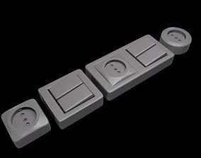 3D Switch socket