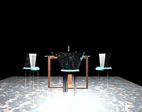 3D model Mini Version Dinner Table