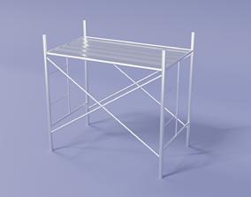 Scaffolding 3D model game-ready