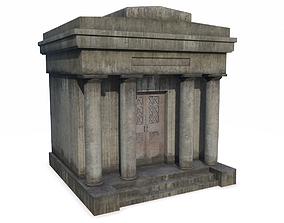 3D asset Mausoleum 4 PBR