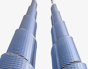 Skyscraper 04 3D model realtime
