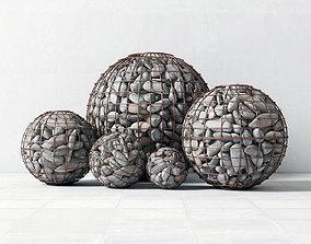 3D Gabion sphere form
