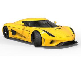 Koenigsegg Regera 2015 for 3D printer