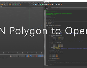 3D model iN Polygon to Open