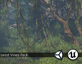 Nature Assets - Forest Vines Pack game-ready