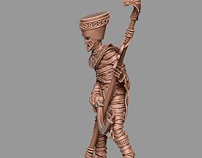 Mummy 35mm scale 3D print model warhammer