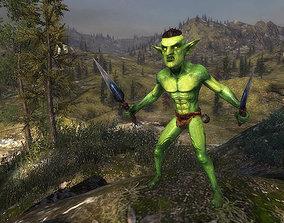 animated 3Dfoin - Goblin Assassin