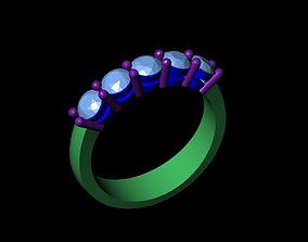 wedding ring 3D asset