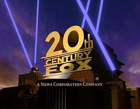 20th century fox 3d model | CGTrader