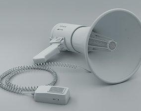 3D model megaphone Speaker