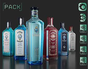 Bombay Gin Pack 3D model